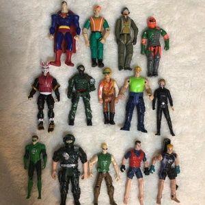3/$12 14 Random action figures bundle